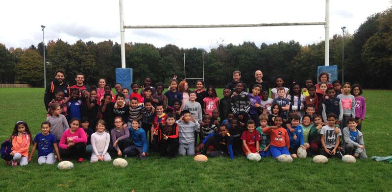 séance rugby école rennes